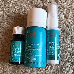 Moroccan oil Sample/ travel sizes